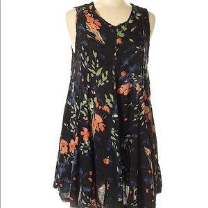Ecote Floral Mini Dress